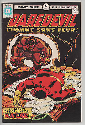DAREDEVIL #15/16 french comic français EDITIONS HERITAGE