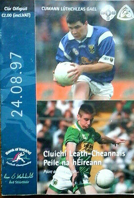 Kerry V Cavan 24/8/1997 Gaa All Ireland Gaelic Football Semi Final