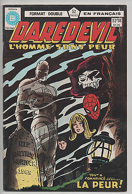 DAREDEVIL #57/58 french comic français EDITIONS HERITAGE