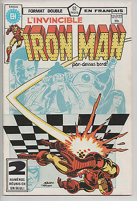 IRON MAN #121/122 french comic français EDITIONS HERITAGE