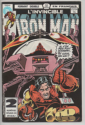 IRON MAN #123/124 french comic français EDITIONS HERITAGE