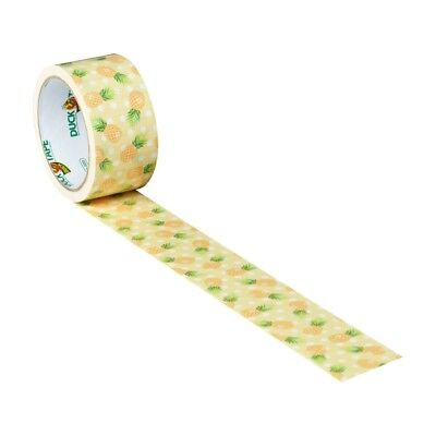 """Pineapple Delight Duck brand Duct Tape 1.88"""" x 10 yard Roll"""