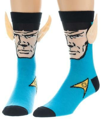 Star Trek - Spock Crew Sock with Ears Size ONE SIZE
