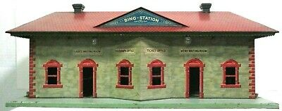 Bing #70/623 Lithographed Bing Train Station