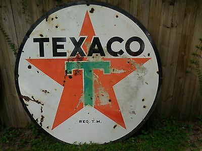 72' vintage texaco sign with great patina