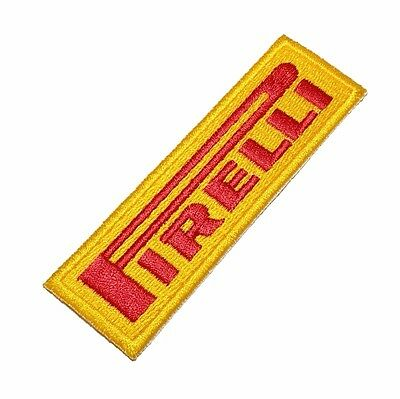 LOG272 Pirelli 100% Embroidered Patch Iron or Sew to Suit jacket or shirt