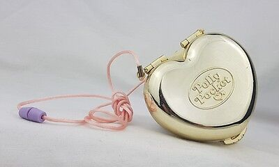 Vintage Polly Pocket Gold Party Purse 1989  Bluebird  Toy ,