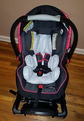 GRACO SNUGRIDE CLICK Connect 40 Infant Car Seat Girl\'s Pink Local ...
