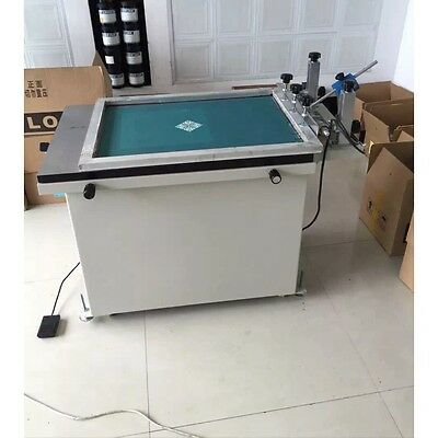 Vacuum suction screen printer screen printing machine