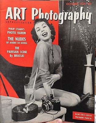 Art Photography magazine October 1956 - vintage photography and pinups
