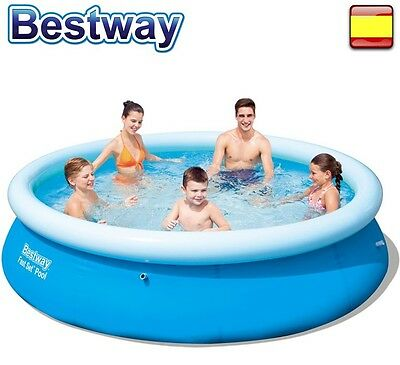 "PISCINA HINCHABLE 3,05m x 76cm - 10"" x 30"" 305cm BESTWAY FAST SET"