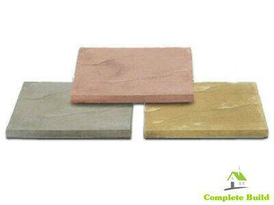 Utility Budget Paving Slabs 600x600, 450x450, Buff or Natural - FREE Delivery