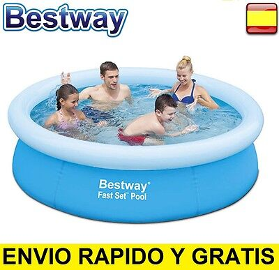 "Piscina Hinchable 198cm 1.98m x 51cm - 7.8"" x 20"" BESTWAY FAST SET"