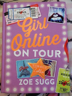 Girl Online On Tour Hardback By Zoe Sugg