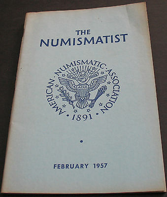 The Numismatist 1957 Indian And Post Trader Tokens Our Frontier Coinage +