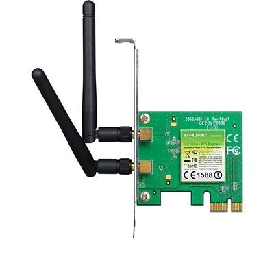 NEW TP-LINK TL-WN881ND 300MBPS WIRELESS N PCI EXPRESS ADAPTER,ATHEROS, 2T2R.j.