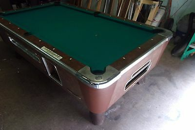 VALLEY Ft Coin Op Pool Table PT PicClick - 6 1 2 foot pool table