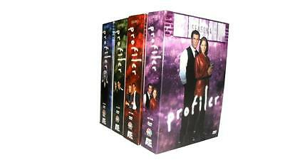 Profiler: The Complete Series Seasons 1-4 (DVD, 23-Disc Set) 1 2 3 4