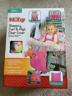 NEW Nuby Shopping Cart & High Chair Cover Infant Toddler Baby Kids Children