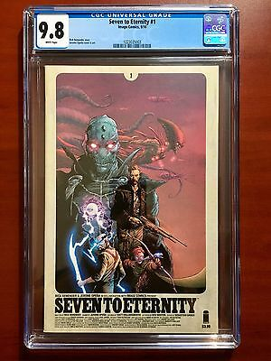 Seven To Eternity #1 ~ 1St Print ~ Cgc 9.8 ~ Sold Out! ~ Remender ~ Opena