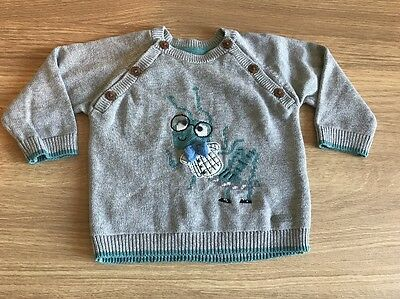M&s Boys Jumper Age 6-9