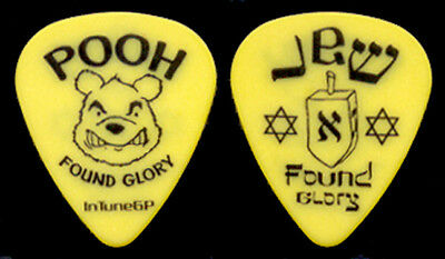 "NEW FOUND GLORY --- ""Pooh Found Glory"" guitar pick"