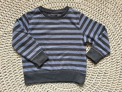 �� Beautiful Next Baby Boy Stripey Jumper Sweatshirt, Size 18-24m ��