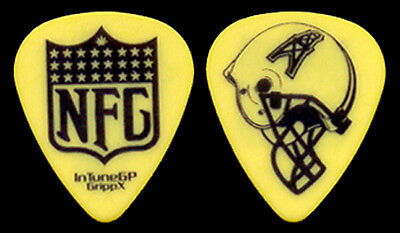 "NEW FOUND GLORY --- Yellow ""Houston Oilers Helmet"" guitar pick"