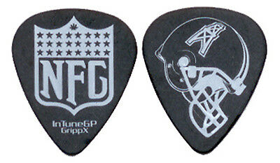 "NEW FOUND GLORY --- Black ""Houston Oilers Helmet"" guitar pick"