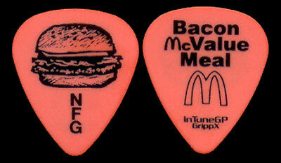 "NEW FOUND GLORY --- ***RARE/HTF*** ""Bacon McValue Meal"" guitar pick"