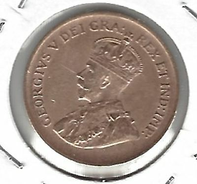 George V 1936 Canadian Small Cent...Great Coin !!!