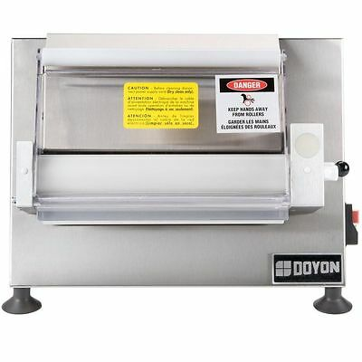 "Doyon DL12SP Countertop 12"" Dough Roller Sheeter, 250 Pieces/Hour - One Stage, H"