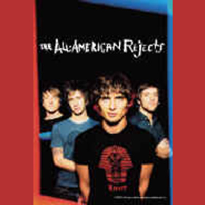 All American Rejects - Illuminated -  Poster - Flag - New