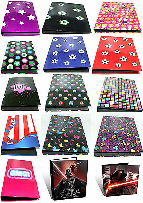 A4 Ring Binder / Folder / Filing / Storage - School Equipment - Various Designs