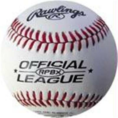 Olympia Sports BA570P Rawlings Leather RPBX Baseball