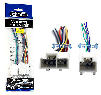 dnf aftermarket car radio wiring harness for select nissan 1984-94 (70-1763