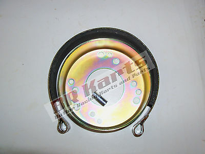 """4-1/2"""" 4.5 Brake Drum and Band w/ 3 Bolt Hole Patterns for Go Kart Minibike"""