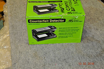 R S Royal Sovereign Counterfeit Bill Detector