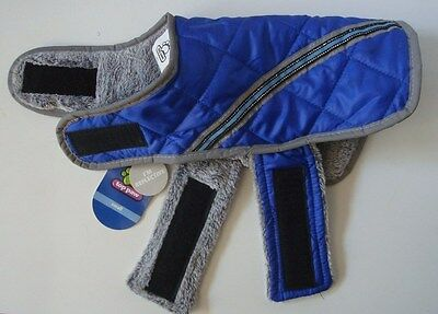 "Top PAW ***Dog Coat*** ""Apparel For Dogs"" Size: SMALL Color: BLUE **New w/Tags**"