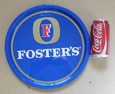 1970s VINTAGE BEER BAR TRAY SIGN PUB FOSTERS XXXX WEST END SWAN BOAGS LAGER ALE