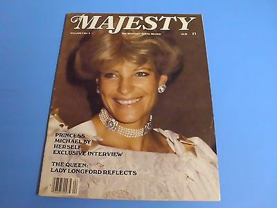 MAJESTY MAGAZINE THE MONTHLY ROYAL REVIEW VOLUME 5 No 4