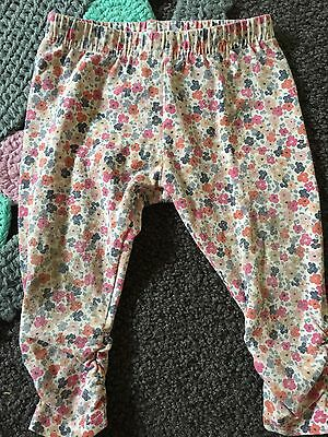 Bebe by Minihaha baby girl leggings size 0