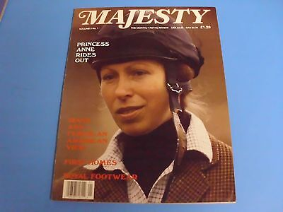 MAJESTY MAGAZINE THE MONTHLY ROYAL REVIEW VOLUME 8 No 1