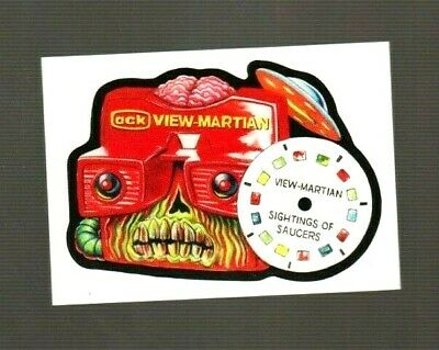 """2017 Wacky Packages/garbage Pail Kids """"view Martian"""" #64 Network Spews Limited"""
