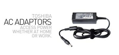 NEW NAT-PA5192A-1AC PA5192A-1AC3, TOSHIBA 45W AC ADAPTER - SUITS TECRA A40-.e.