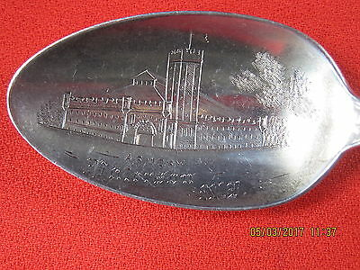Rare Armory, Paterson, North Dakota Sterling Souvenir Spoon / Lenox By Towle
