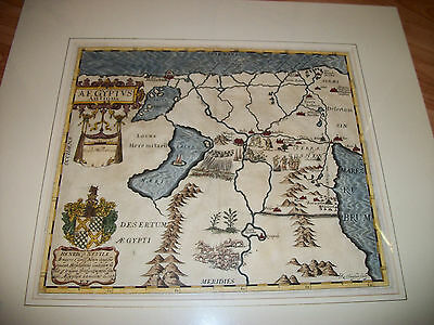 ANTIQUE1650 MAP of ANCIENT EGYPT by THOMAS FULLER