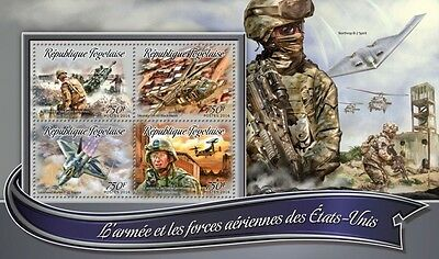 Z08 TG16301a TOGO 2016 The army and air forces MNH