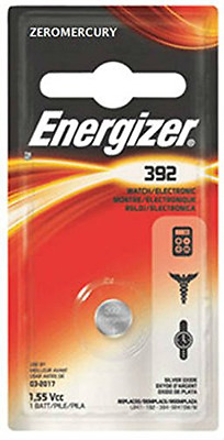 Energizer 392BP Button cell batteries, 1.5 V, 6/pack (Eveready # 392)