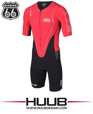 HUUB DS LONG COURSE TRIATHLON SUIT RED (size: M)